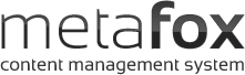 METAFOX content management system
